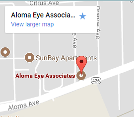 Aloma Eye Care Associates in Winter Park, Florida